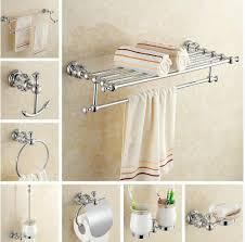 chrome finish bathroom accessories