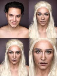 guy uses epic makeup to morph into game