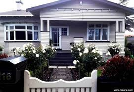 Home Refreshed With Modern Neutrals Bungalow Exterior Exterior House Color Paint Colors For Home