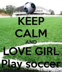 keep calm and love play soccer
