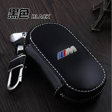 genuine leather car key fob case cover