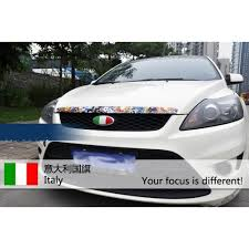 Car Decal Sticker Reflective Ford Focus National Flag Italy Italian Cars Boats Vehicles Parts Webstore Online Auction