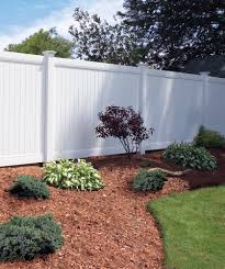 Bufftech New Lexington Privacy Vinyl Fence Liw Rail And Fence Llc