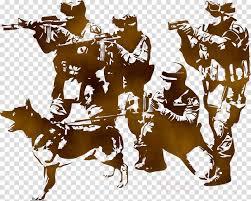Army Cartoon Clipart Sticker Soldier Wall Transparent Clip Art