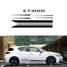 Car Side Body Decal Stickers For Lexus Ct200h For Hatchback Sedan Car Decals Diy Car Decoration Stickers Auto Accessories 180cm Car Stickers Aliexpress