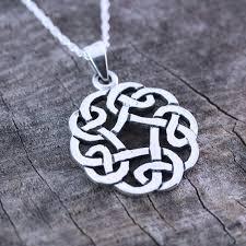 celtic knot friendship necklace