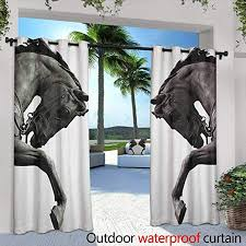sculptures grommet outdoor curtains