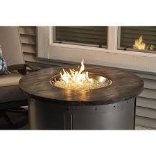 edison round gas fire