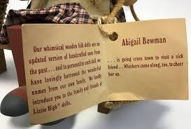 Lizzie High Ladie & Friends Abigail Bowman Bench - shopgoodwill.com