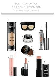 best foundation for bination skin