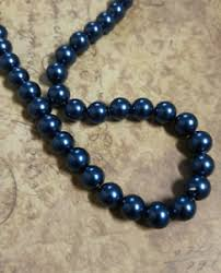 navy blue gl pearls bulk beads 10mm