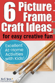 kids with 6 picture frame craft ideas