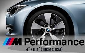 Product Bmw M Performance Wheels Door Handle Rear View Mirror Body Vinyl Decal Sticker