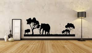 African Wall Decal African Wild Pride Animals Safari Decal Etsy