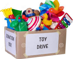 toy and painting supplies donations