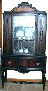 value of antique china cabinet