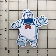 Stay Puft Ghost Busters 4 Tall Color Vinyl Decal Sticker Bogo For Sale Online