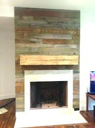 reclaimed wood fireplace mantel shelves