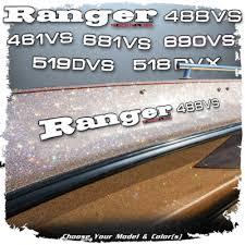 Domed Ranger Decals