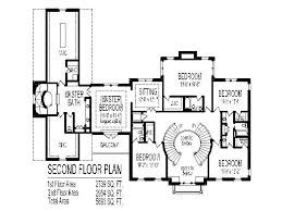 double staircase house floor plans
