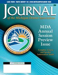 journal of the michigan dental ociation