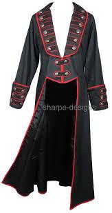 mens romantic gothic pirate clothing