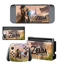 Nintendoswitch Sticker The Legend Of Zelda Wrap Skin Decal For Nintendo Switch Full Set Faceplate Stickers Console Joy Con Dock Consoleskins Co