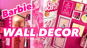 barbie wall decor barbie diy stuff