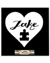 Shopping Special For Autism Awareness Personalized Heart Puzzle Piece Autism Car Window Decal Cup Container Decal Laptop Sticker White 3 5 X 2 5