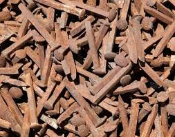 20 railroad spikes nails collectible