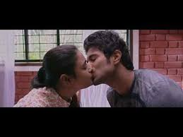 arjun reddy back to back kisses lip