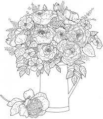 Freebie Floral Coloring Page Kleurplaten Disney Kleurplaten En