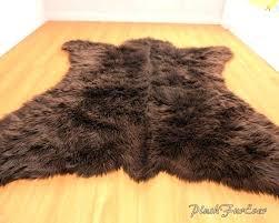 brown bear rug sutanrajaamurang