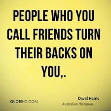 friends turning their back quotes quotesgram