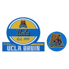 Ucla Bruins Jumbo Tailgate Mascot Peel Stick Decal Set