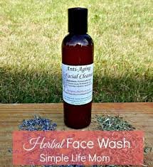 diy herbal face wash a natural