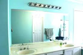 large bathroom mirror hangers hanging