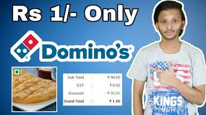 garlic bread from dominos at rs