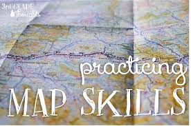 Practicing Map Skills: Scavenger Hunt Map Walk Activity | 3rd Grade Thoughts