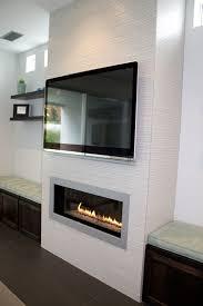 modern fireplace decor