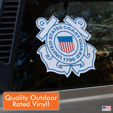 Collectibles Stickers Decals United States Coast Guard Window Sticker Outside Decal 1790 Zsco Iq
