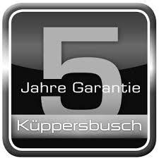 Image result for 5 JAHRE GARANTIE KUPPERSBUSCH
