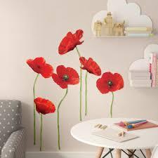 Wrought Studio Aileu 12 Piece Poppies Wall Decal Set Reviews Wayfair