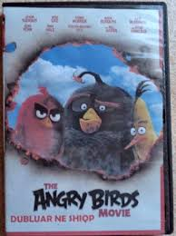 The Angry Birds Movie. DVD Animated Film in Albanian language For ...