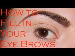 perfect eyebrows makeup tutorial