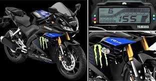 yamaha r15 v3 monster energy edition