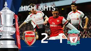 Arsenal vs Liverpool 2-1 FA Cup 5th Round goals & highlights 2014 - YouTube