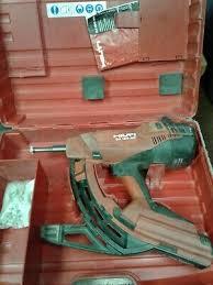 gas actuated nailer nail gun