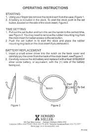 clock owners manuals user manuals for