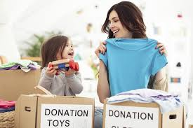kids to willingly donate their toys